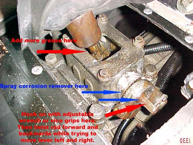 Fixing a Land Rover Discovery Stuck Differential Lock or