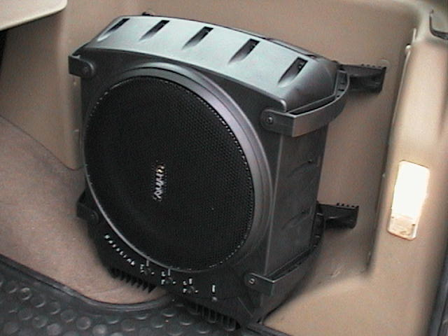 What do you need to hook up subwoofers in your car